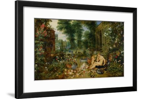The Five Senses: Smell-Jan Brueghel the Elder-Framed Art Print