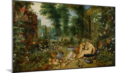 The Five Senses: Smell-Jan Brueghel the Elder-Mounted Giclee Print