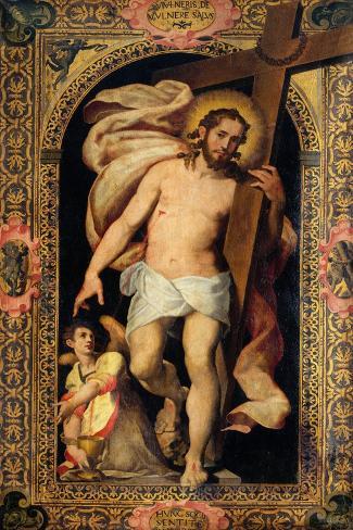 Resurrection-Giambattista Tinti-Stretched Canvas Print
