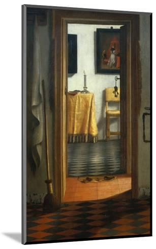 View of an Interior-Samuel van Hoogstraten-Mounted Giclee Print