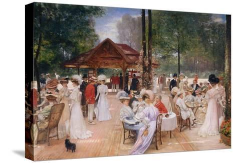 The Club of the Ile de Puteaux, 1907-Henri Gervex-Stretched Canvas Print