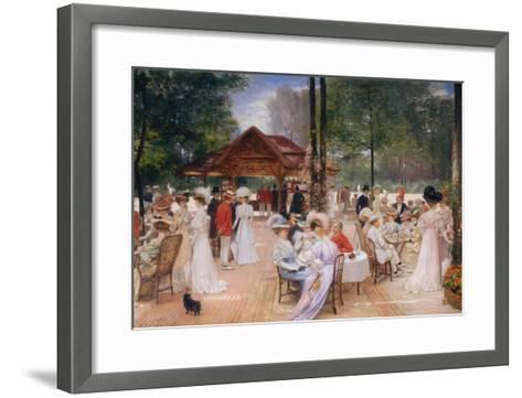 The Club of the Ile de Puteaux, 1907-Henri Gervex-Framed Art Print