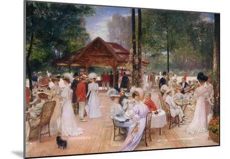 The Club of the Ile de Puteaux, 1907-Henri Gervex-Mounted Giclee Print