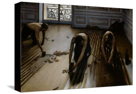 Floor Scrapers-Gustave Caillebotte-Stretched Canvas Print