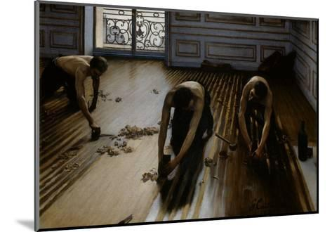 Floor Scrapers-Gustave Caillebotte-Mounted Giclee Print