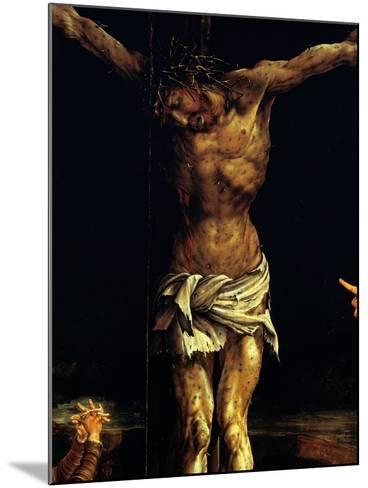 Isenheim Altar: Crucifixion, detail-Matthias Gruenewald-Mounted Giclee Print