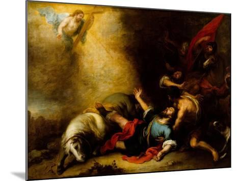 Conversion of Saint Paul-Bartolome Esteban Murillo-Mounted Giclee Print