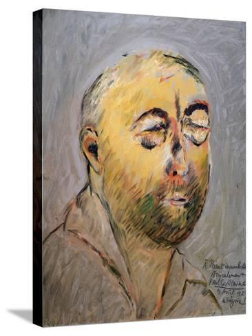 Portrait of the Tailor Paul Poiret, 1927-Paul Guillaume-Stretched Canvas Print