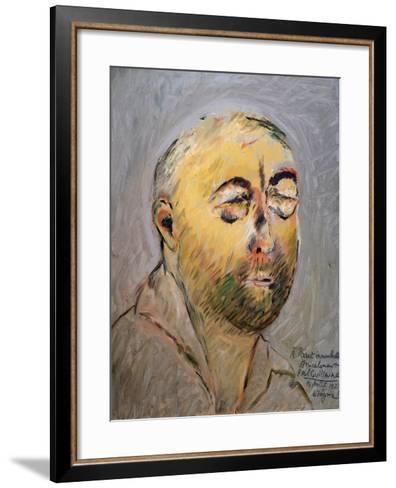 Portrait of the Tailor Paul Poiret, 1927-Paul Guillaume-Framed Art Print
