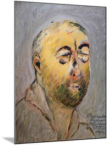 Portrait of the Tailor Paul Poiret, 1927-Paul Guillaume-Mounted Giclee Print