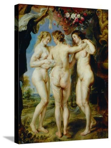 The Three Graces-Peter Paul Rubens-Stretched Canvas Print