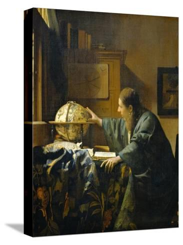 The Astronomer-Johannes Vermeer-Stretched Canvas Print