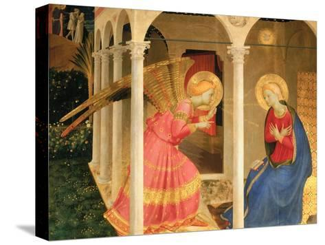 Cortona Altarpiece with the Annunciation, without predellas-Fra Angelico-Stretched Canvas Print