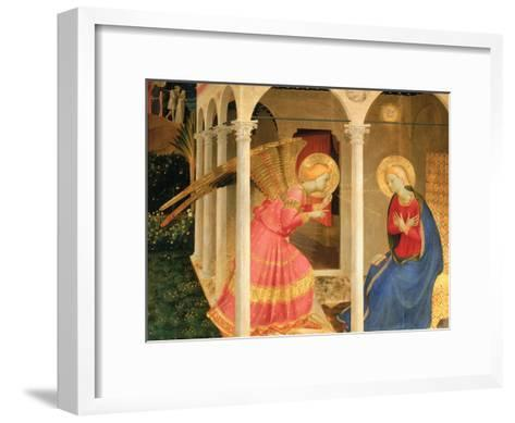 Cortona Altarpiece with the Annunciation, without predellas-Fra Angelico-Framed Art Print