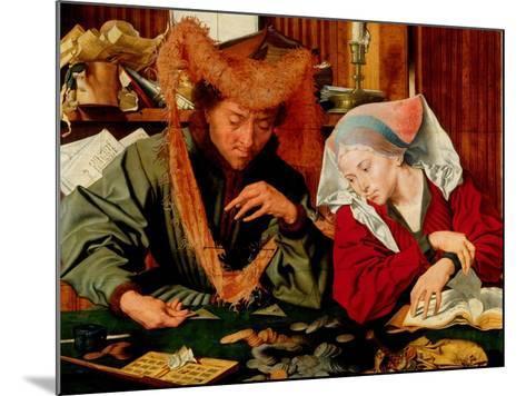 A Moneychanger and His Wife-Marinus Van Reymerswaele-Mounted Giclee Print