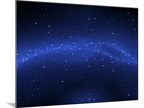Illustration of the Milky Way--Mounted Photographic Print