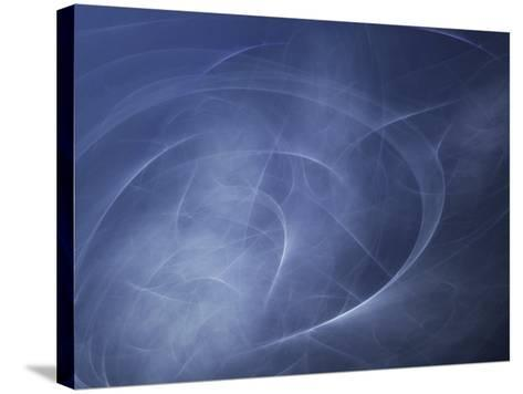 Abstract Illustration of Motion--Stretched Canvas Print