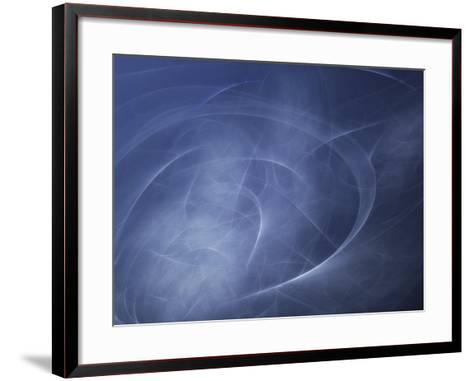 Abstract Illustration of Motion--Framed Art Print