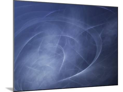 Abstract Illustration of Motion--Mounted Photographic Print