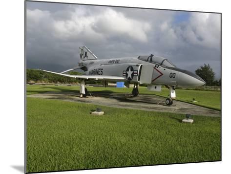 The F4 Phantom II on Display--Mounted Photographic Print