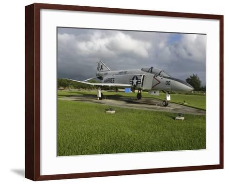 The F4 Phantom II on Display--Framed Art Print