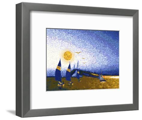 Florida Skyway-Rich LaPenna-Framed Art Print