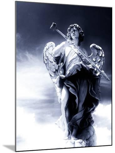 Angel Statue in the Clouds-Abdul Kadir Audah-Mounted Photographic Print