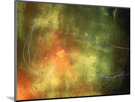 Abstract Image Yellow,Green, and Red-Daniel Root-Mounted Giclee Print