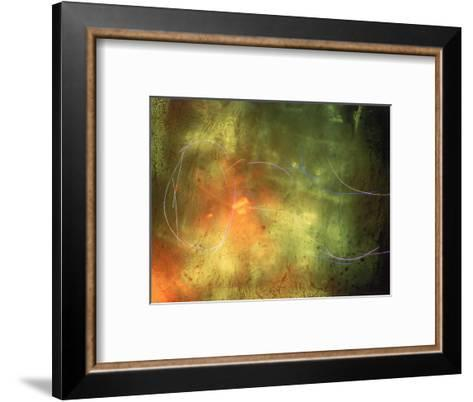 Abstract Image Yellow,Green, and Red-Daniel Root-Framed Art Print