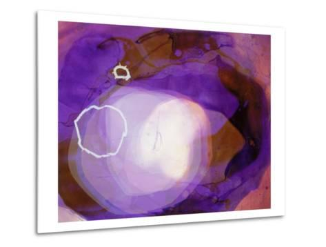 Abstract Image in Various Shades of Purple-Daniel Root-Metal Print