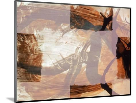 Abstract Image in Brown and White-Daniel Root-Mounted Giclee Print