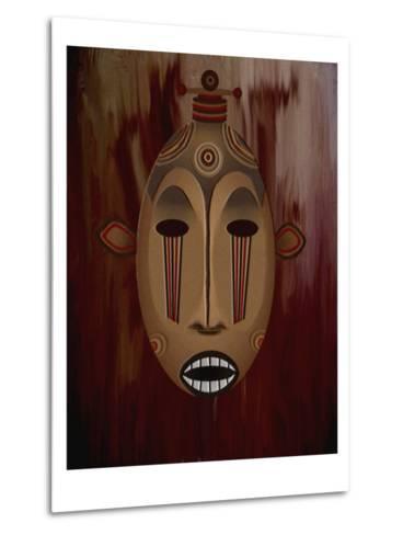 Ceremonial Mask-Rich LaPenna-Metal Print