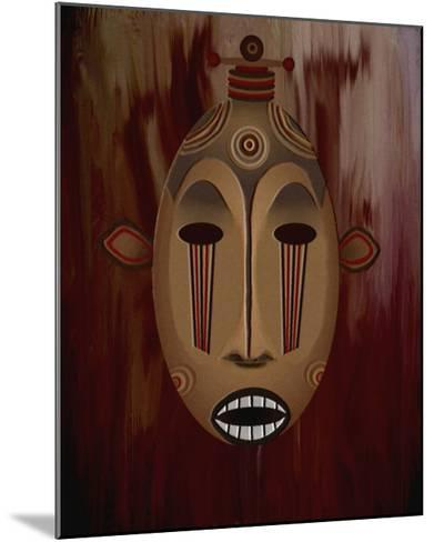 Ceremonial Mask-Rich LaPenna-Mounted Giclee Print