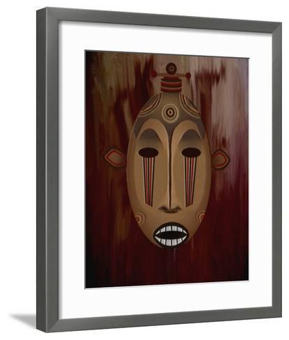 Ceremonial Mask-Rich LaPenna-Framed Art Print