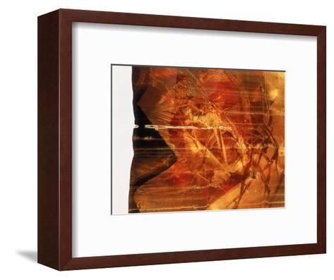 Abstract Image in Red-Daniel Root-Framed Art Print