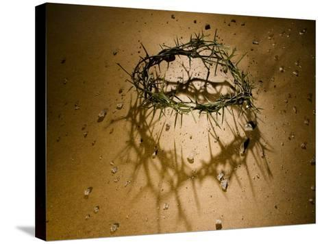 Crown of Thorns with Large Shadow and Pieces of Rock-Joshua Hultquist-Stretched Canvas Print