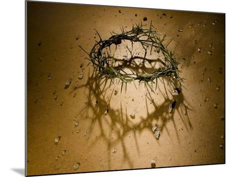 Crown of Thorns with Large Shadow and Pieces of Rock-Joshua Hultquist-Mounted Photographic Print