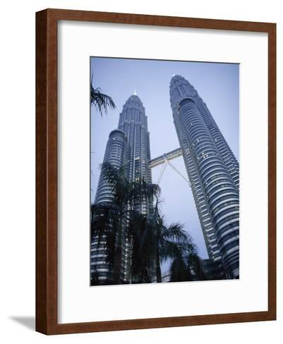 Petronas Towers, the Tallest Twin Towers in the World-xPacifica-Framed Art Print