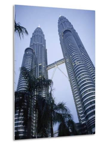 Petronas Towers, the Tallest Twin Towers in the World-xPacifica-Metal Print