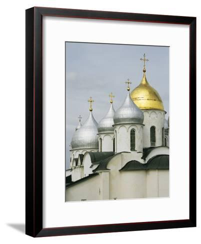 Domes of the Cathedral of St. Sophia-Martin Gray-Framed Art Print