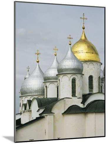Domes of the Cathedral of St. Sophia-Martin Gray-Mounted Photographic Print