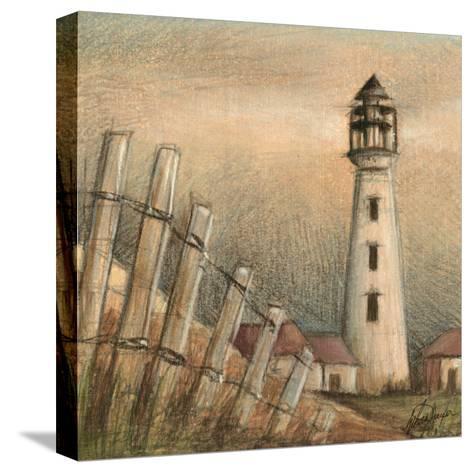 Coastal View II-Ethan Harper-Stretched Canvas Print