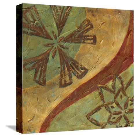 Lattice work IV-Chariklia Zarris-Stretched Canvas Print
