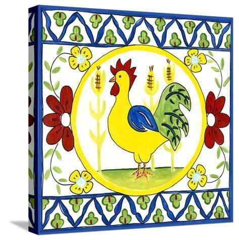 Rustic Tile V-Chariklia Zarris-Stretched Canvas Print