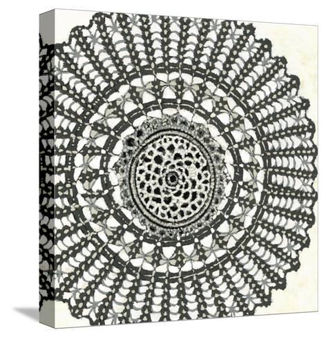 Mini Abstract Rosette II-Chariklia Zarris-Stretched Canvas Print