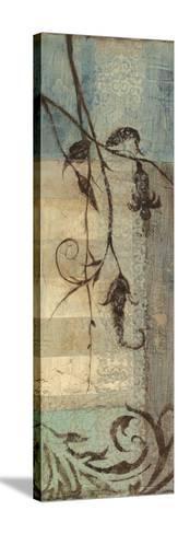 Small Wildflower Resonance I-Jennifer Goldberger-Stretched Canvas Print