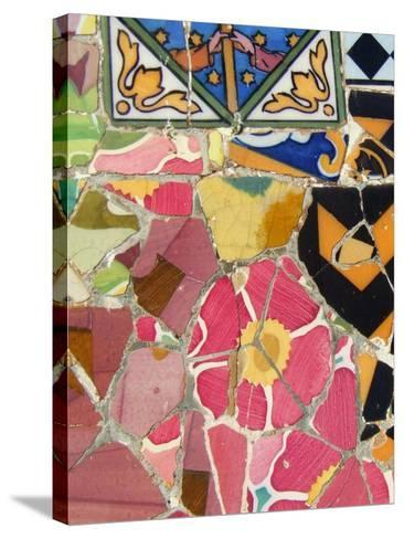 Mosaic Fragments III--Stretched Canvas Print