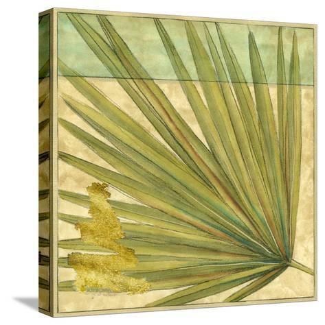 Fan Palm I-Jennifer Goldberger-Stretched Canvas Print