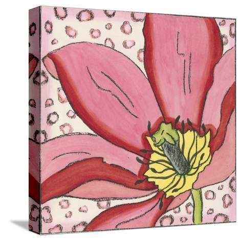 Pink Petals II-Nancy Slocum-Stretched Canvas Print