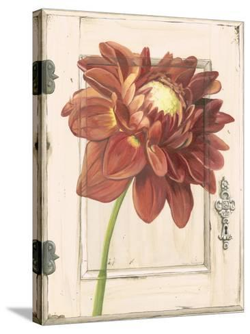 Dahlia Door-Megan Meagher-Stretched Canvas Print
